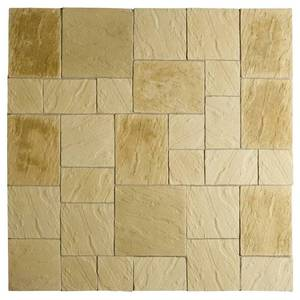 Image of: Abbey Paving Patio Slabs 5.76sqm (York Gold)