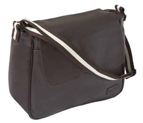 Image of: Tippitoes City Brown Baby Changing Bag