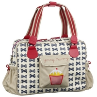 Image of: Baby Changing Bag - Bows (Yummy Mummy)