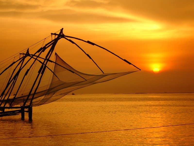 Kerala Family Holiday Chinese Fishing Nets