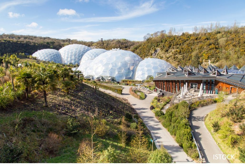 UK Family Day Trip Ideas - Eden Project