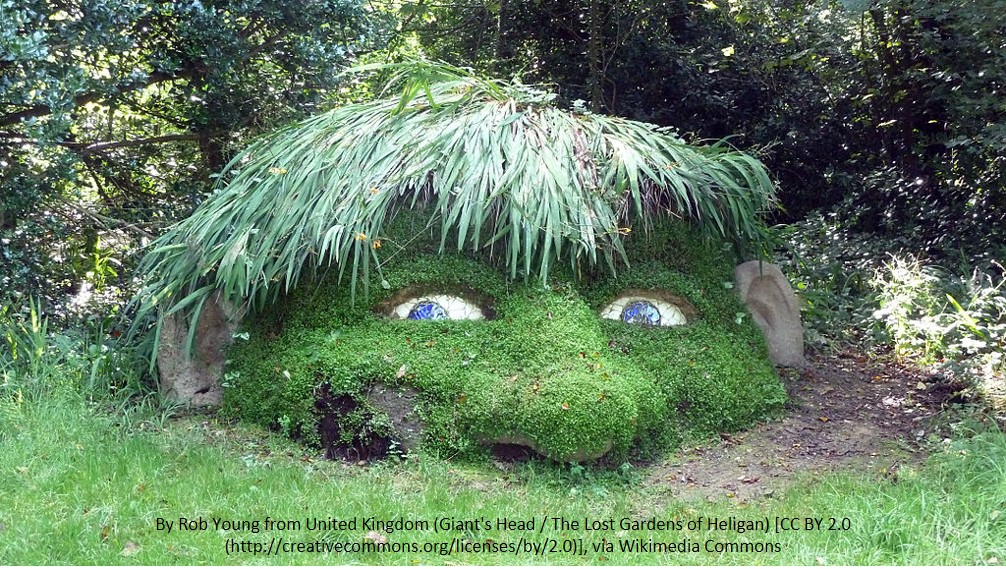 Giant's Head - Lost Gardens of Helligan