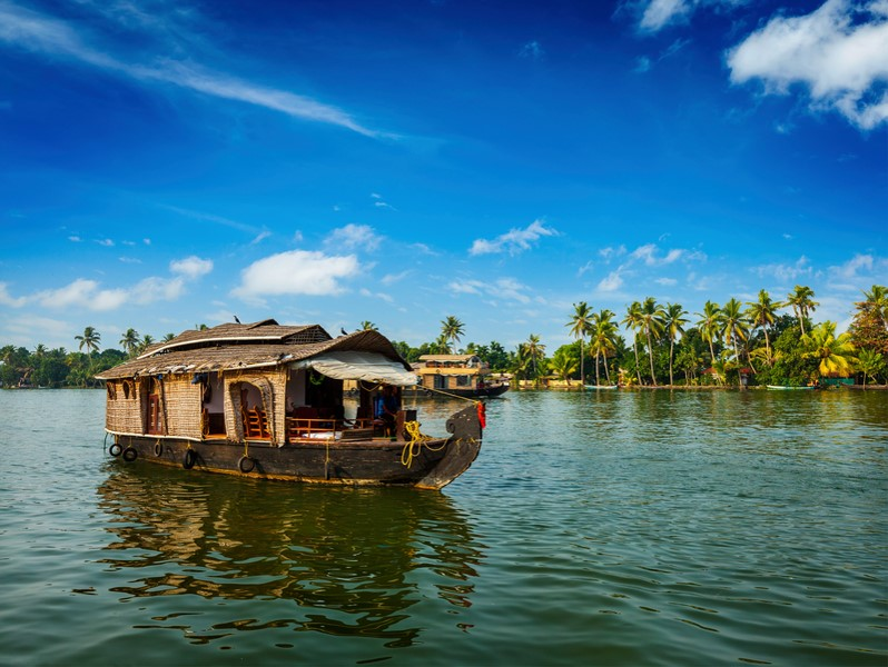 Holidays to Kerala- Houseboat