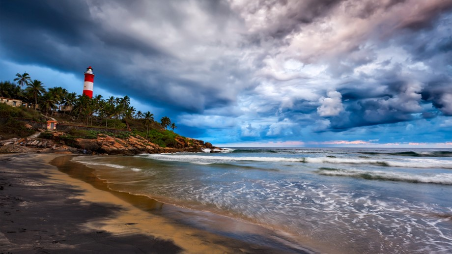 Kerala Family Holiday- Kovalam Beach