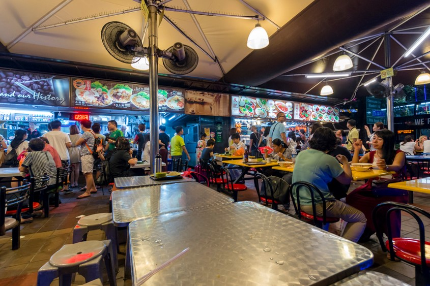 Holidays to Singapore - Singapore foodcourt