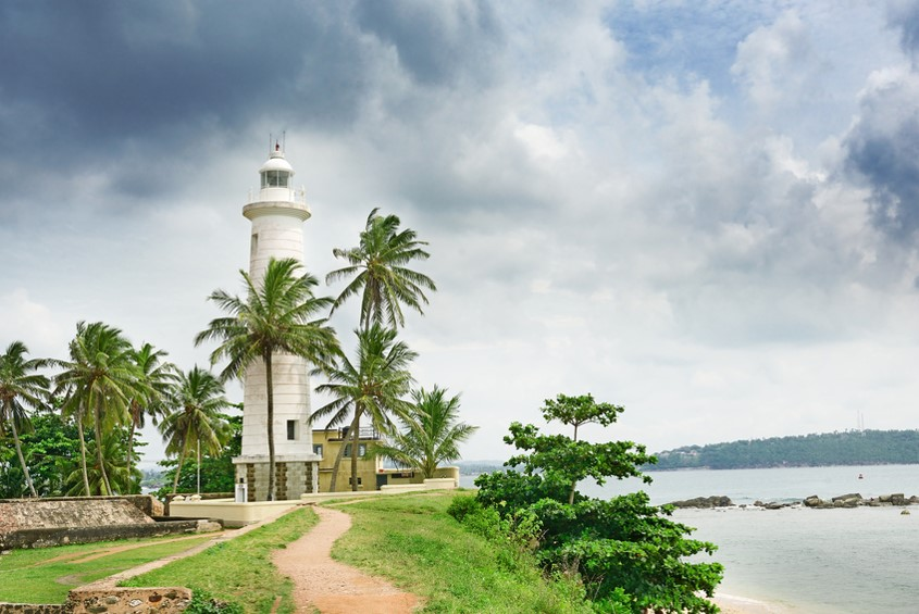 Sri Lanka  Holidays - Galle lighthouse
