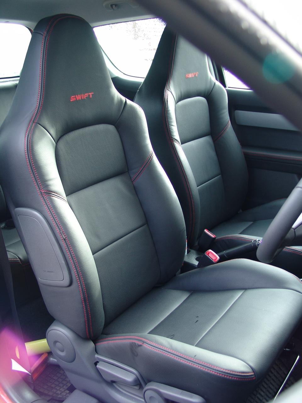 Suzuki Swift Sport Seats