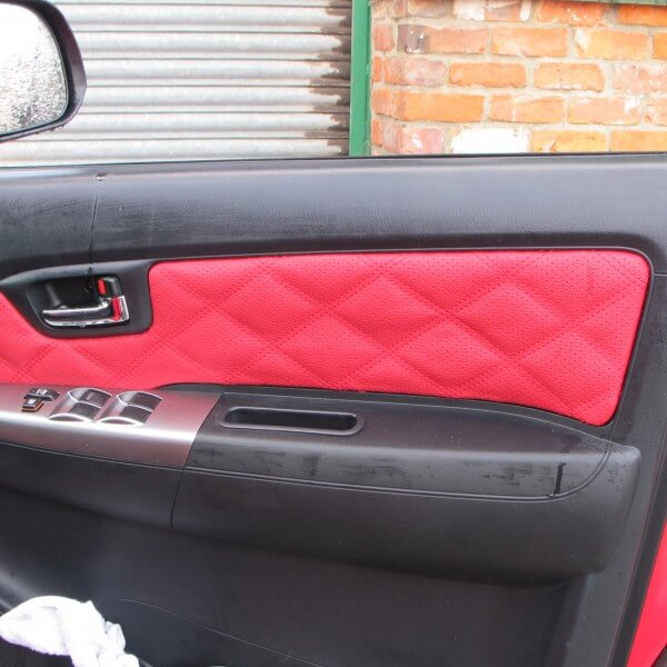 Toyota Hilux rears Toyota Hilux door trim & Toyota Hilux - Bespoke design - Seat Surgeons