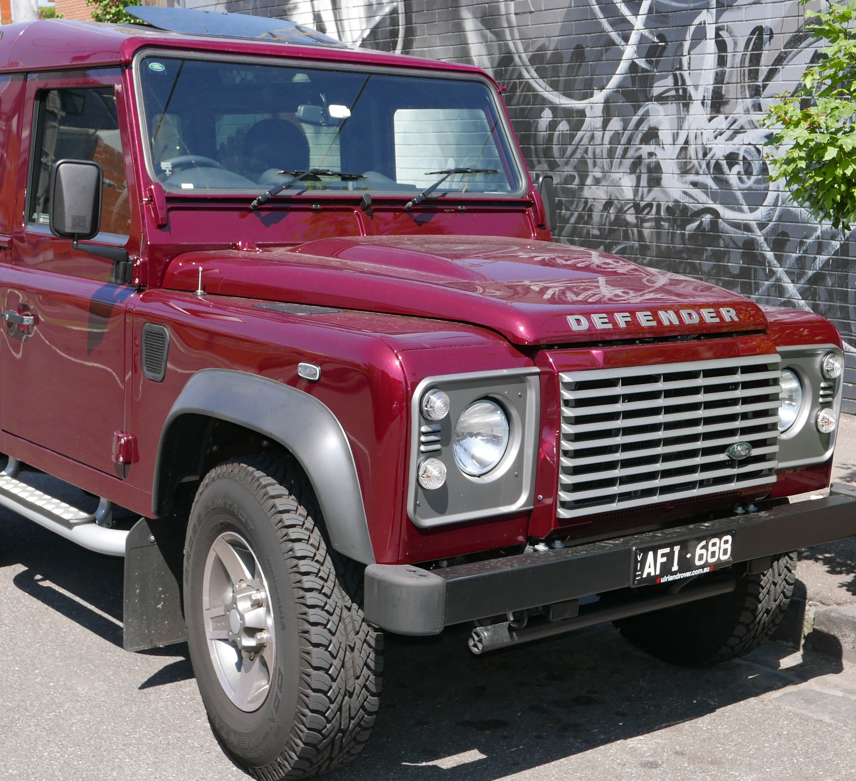 aston defender cars used workshop from landrover land for rover sale pickup