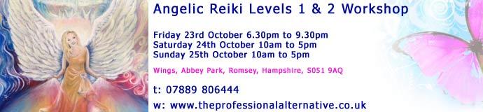 Angelic Reiki Levels 1 & 2
