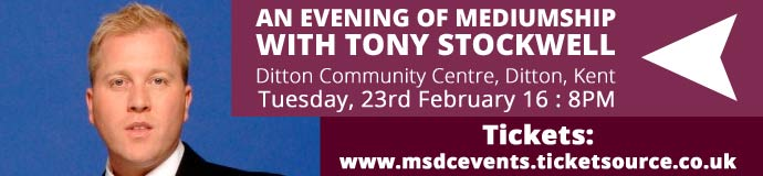 Evening of Mediumship with TONY STOCKWELL