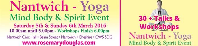 Mind Body Spirit Event & Designated Yoga Area