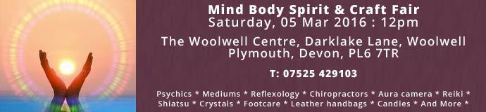 Mind Body Spirit  & Craft Fair