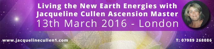 Living the New Earth Energies with Jacqueline Cullen Ascension Master