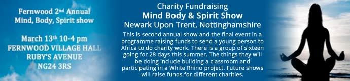 Charity Fundraising Mind Body & Spirit Show
