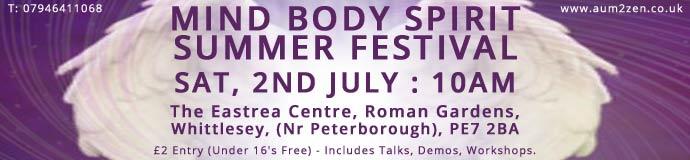 MIND BODY SPIRIT SUMMER FESTIVAL