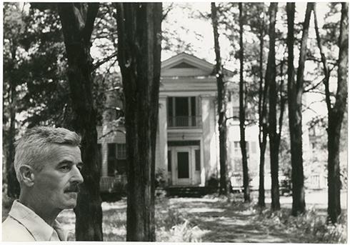 Faulkner a Rowan Oak. Foto: Cartier-Bresson.