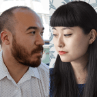 Josh Cochran and Jing Wei