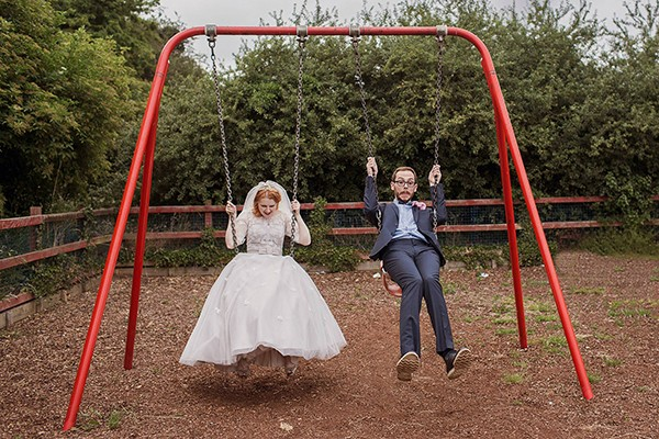 creative wedding photographers in the UK