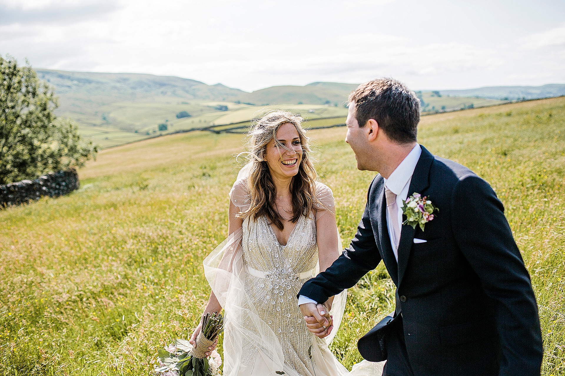 Red Lion Wedding in The Yorkshire Dales from John Day Photography Yorkshire Dales Wedding Photographer