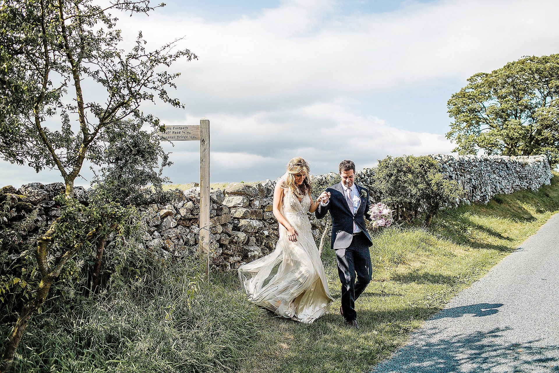 Red Lion Wedding in The Yorkshire Dales from John Day Photography