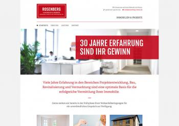 Rosenberg Immobilien Website