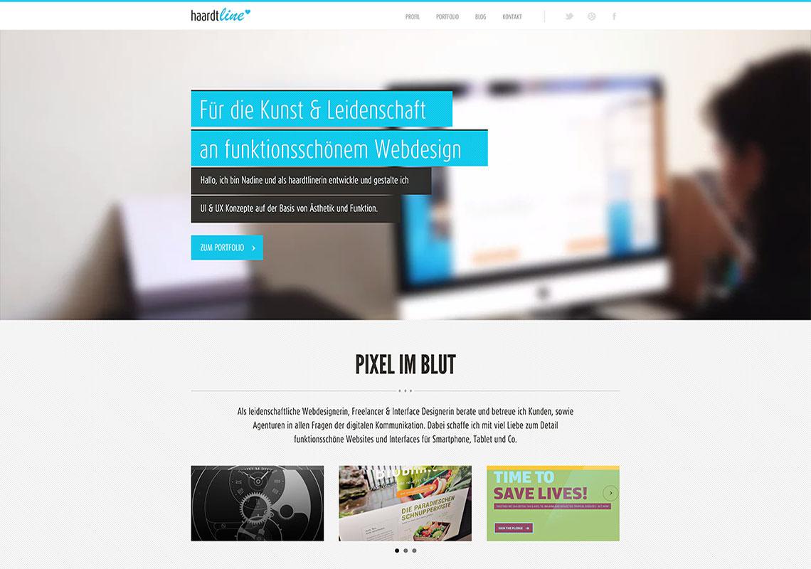 haardtline Website