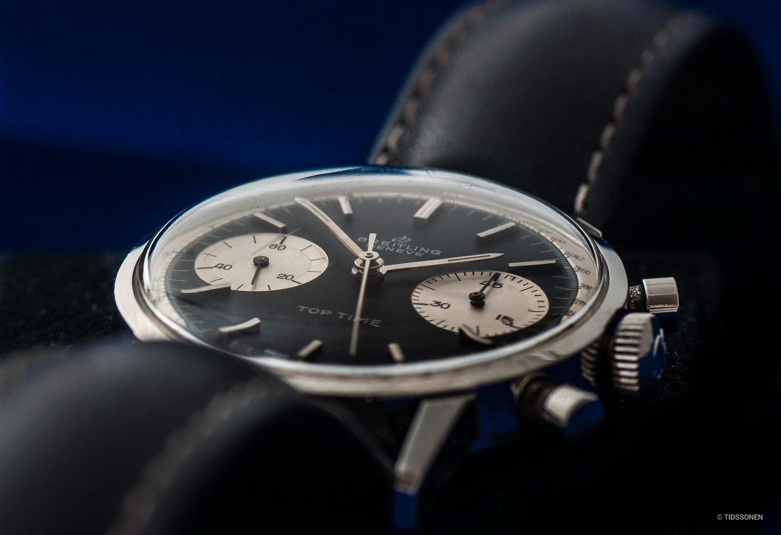 """I motsetning til moderne klokker har de fleste vintage-klokkene pleksiglass ofte formet som en """"dom"""" for bedre å kunne motstå støt og slag."""