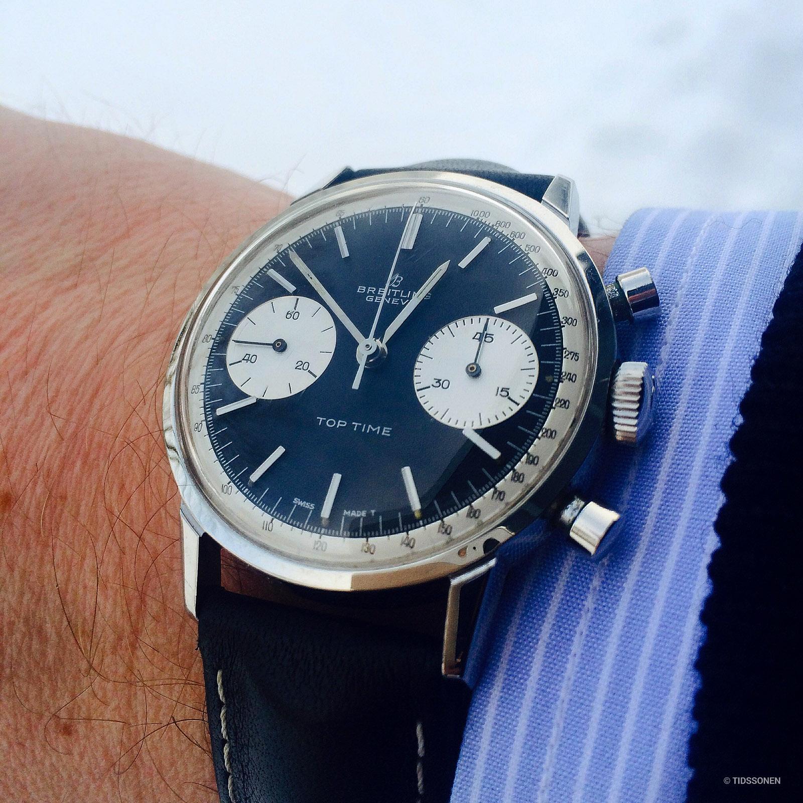 En Top Time har en fin størrelse for et gjennomsnittlig håndledd