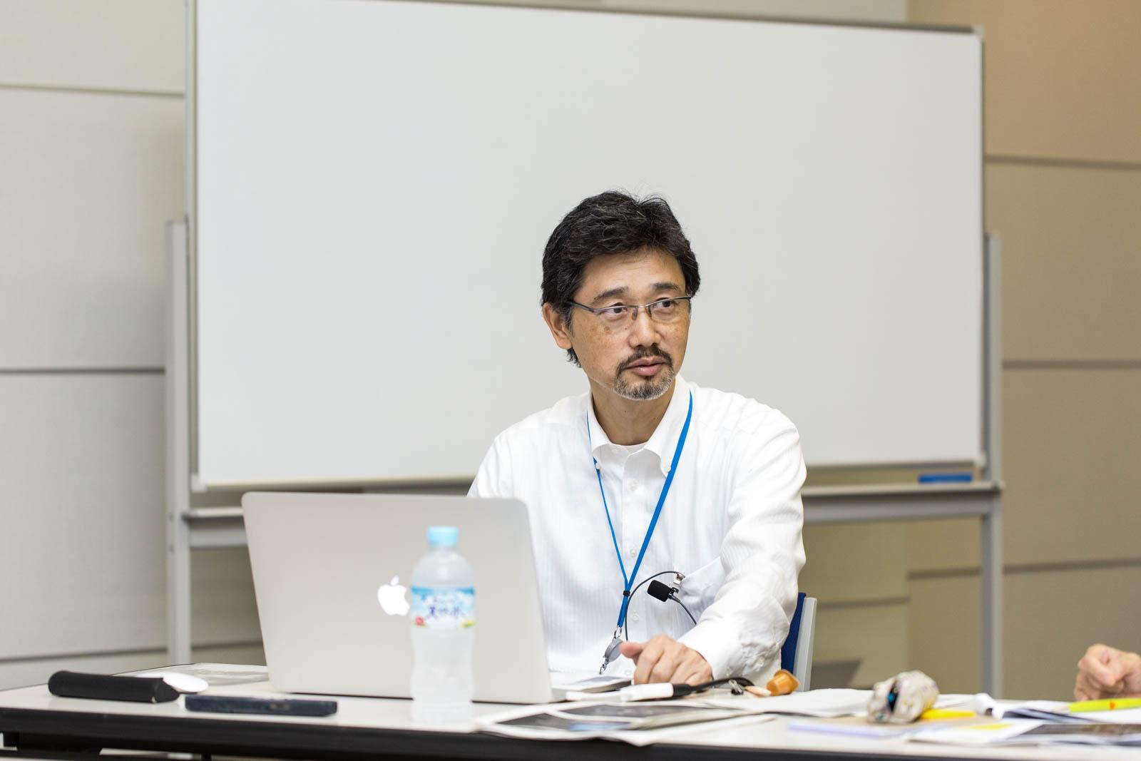 Takashi Morishima, General Manager, Timepiece Design Department.