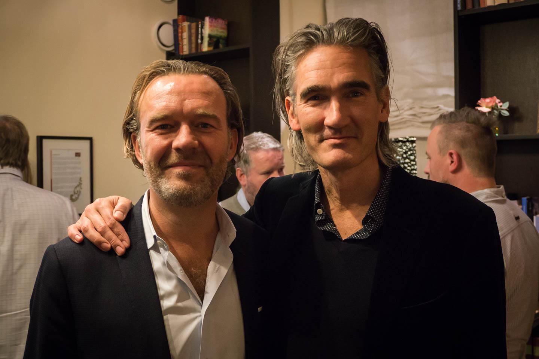 Jørn Werdelin (venstre) og Morten Linde.