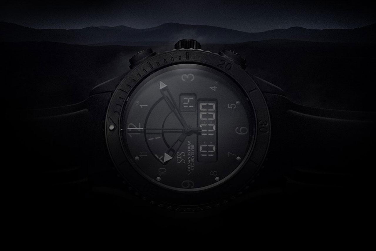 sjoo-sandstrom-utc-skydiver-black-night-side