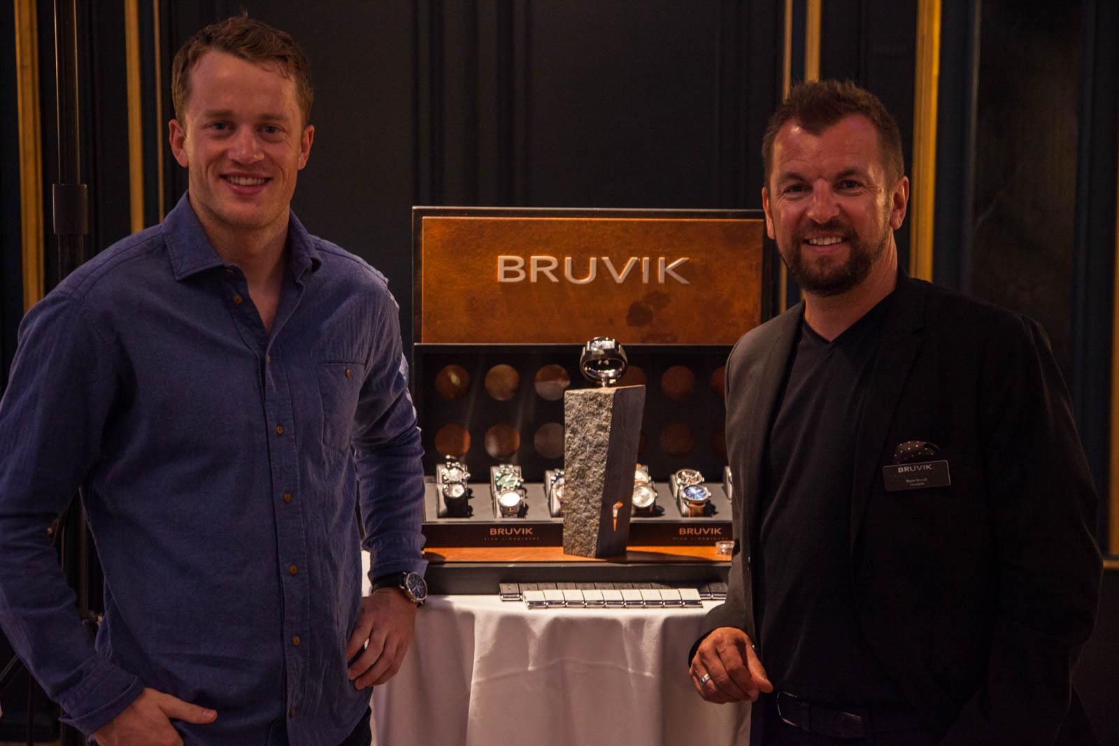Tarjei Bø og Rune Bruvik.