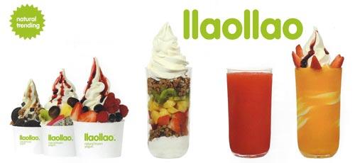 La France adopte le yaourt glacé llaollao !