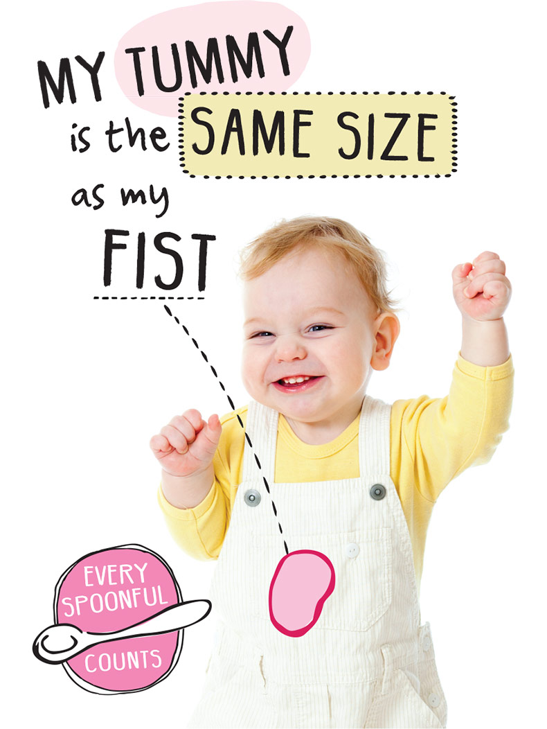 toddler tummy size