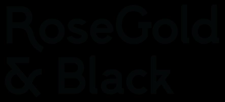 RoseGold & Black