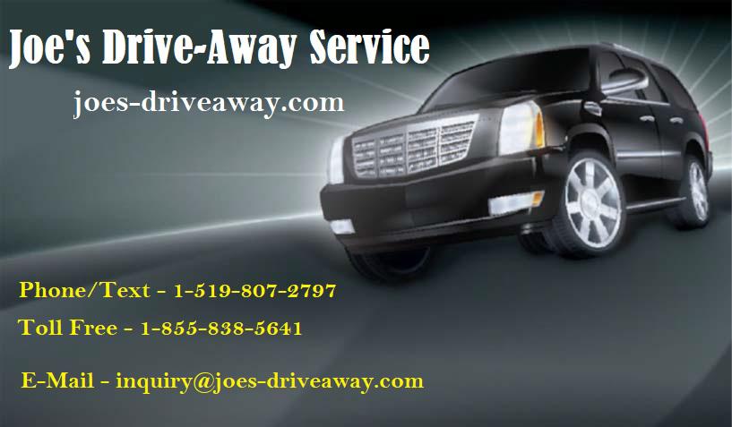 Joe's Drive-Away Service