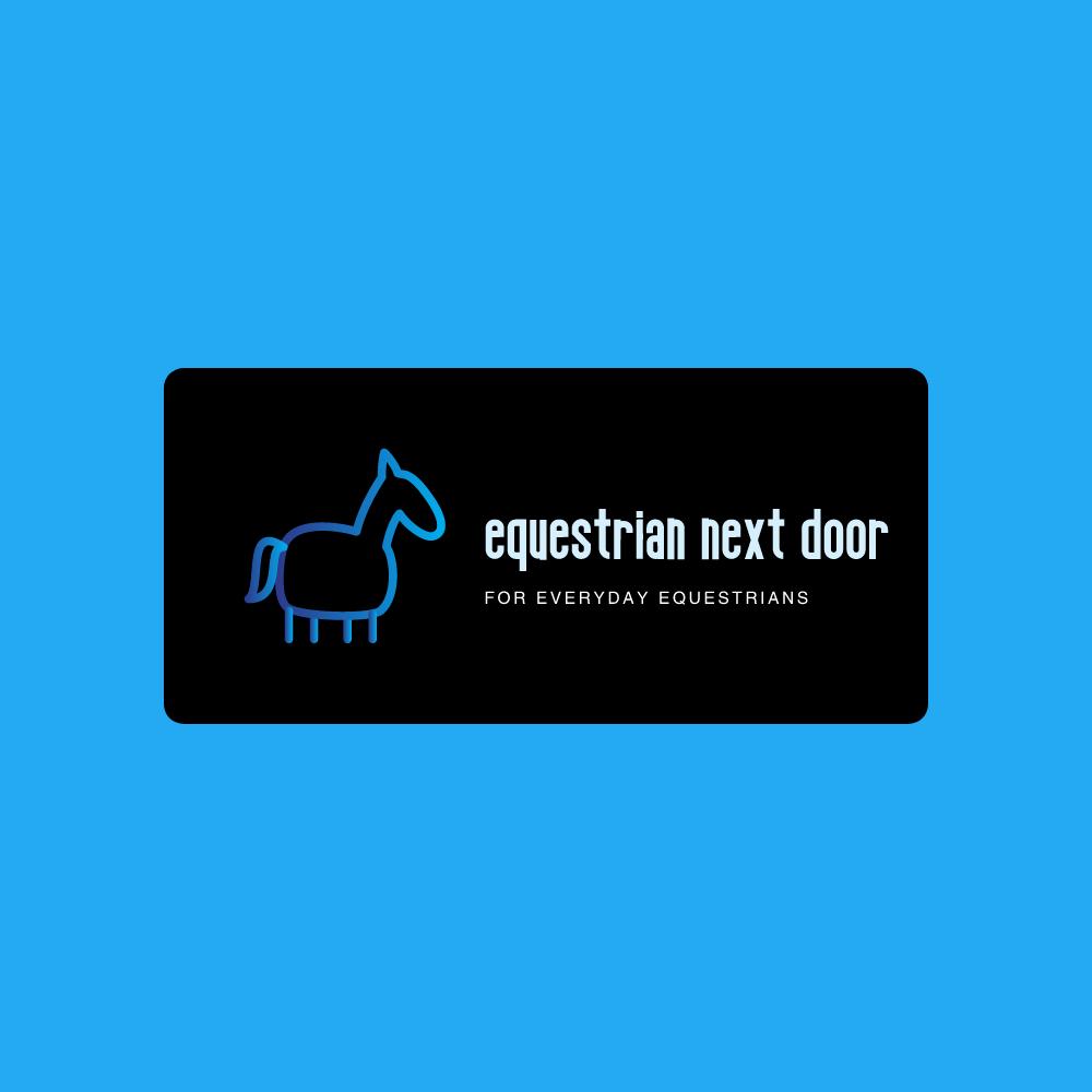 Equestrian Next Door / Cavalière d'à c?té