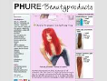 PHure Beautyproducts Logo