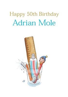Large adrian mole birthday 2