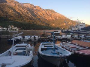 Igrane boats Croatia