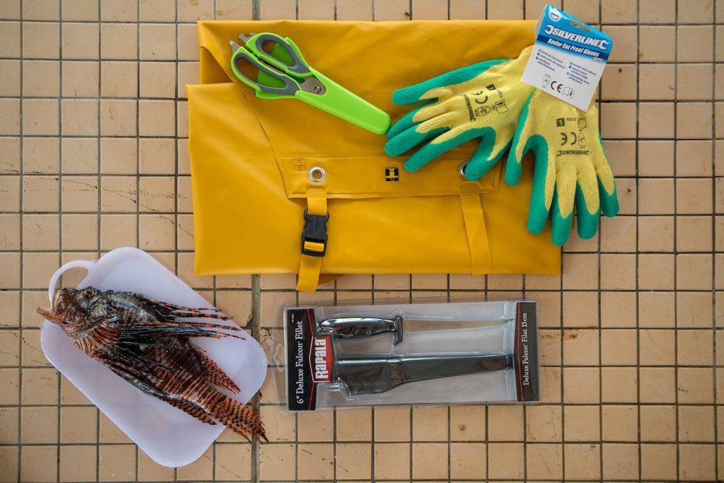 lionfish equipment
