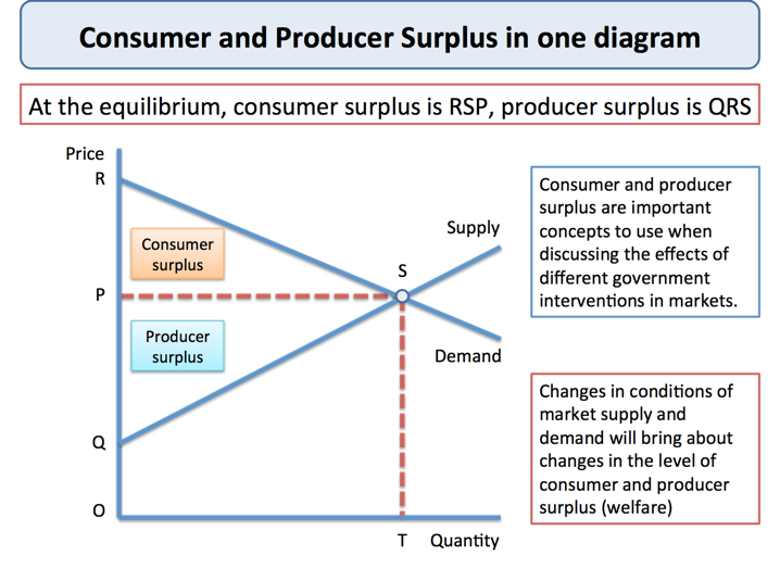 case study on consumer surplus