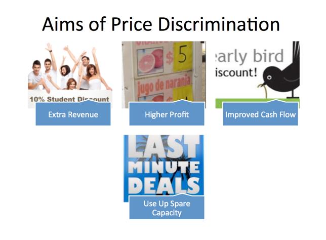 Monopoly   Price Discrimination   tutor u Economics What are the main aims of price discrimination