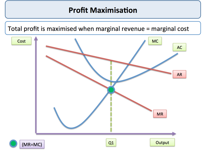 an analysis of the concept of amalgamate and the profit maximization