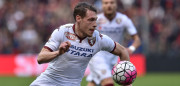 GENOA, ITALY - MARCH 13:  Andrea Belotti of Torino FC in action during the Serie A match between Genoa CFC and Torino FC at Stadio Luigi Ferraris on March 13, 2016 in Genoa, Italy.  (Photo by Valerio Pennicino/Getty Images)