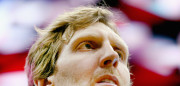 DALLAS, TX - DECEMBER 28:  Dirk Nowitzki #41 of the Dallas Mavericks stands during the National Anthem before taking on the Milwaukee Bucks at American Airlines Center on December 28, 2015 in Dallas, Texas. NOTE TO USER: User expressly acknowledges and agrees that, by downloading and or using this photograph, User is consenting to the terms and conditions of the Getty Images License Agreement.  (Photo by Tom Pennington/Getty Images)