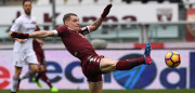 TURIN, ITALY - MARCH 05:  Andrea Belotti of FC Torino in action during the Serie A match between FC Torino and US Citta di Palermo at Stadio Olimpico di Torino on March 5, 2017 in Turin, Italy.  (Photo by Valerio Pennicino/Getty Images)
