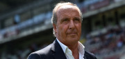 TURIN, ITALY - MAY 17:  Torino FC head coach Giampiero Ventura looks on prior to the Serie A match between Torino FC and AC Chievo Verona at Stadio Olimpico di Torino on May 17, 2015 in Turin, Italy.  (Photo by Valerio Pennicino/Getty Images)
