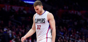 LOS ANGELES, CA - FEBRUARY 24:  Blake Griffin #32 of the LA Clippers reacts while trailing the San Antonio Spurs late in the fourth quarter at Staples Center on February 24, 2017 in Los Angeles, California.  NOTE TO USER: User expressly acknowledges and agrees that, by downloading and or using this photograph, User is consenting to the terms and conditions of the Getty Images License Agreement.  (Photo by Harry How/Getty Images)